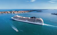 MSC Musica on a cruise wallpaper 2560x1600 jpg