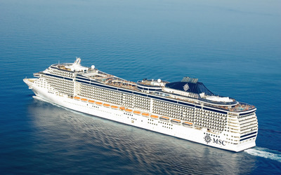 MSC Splendida Wallpaper