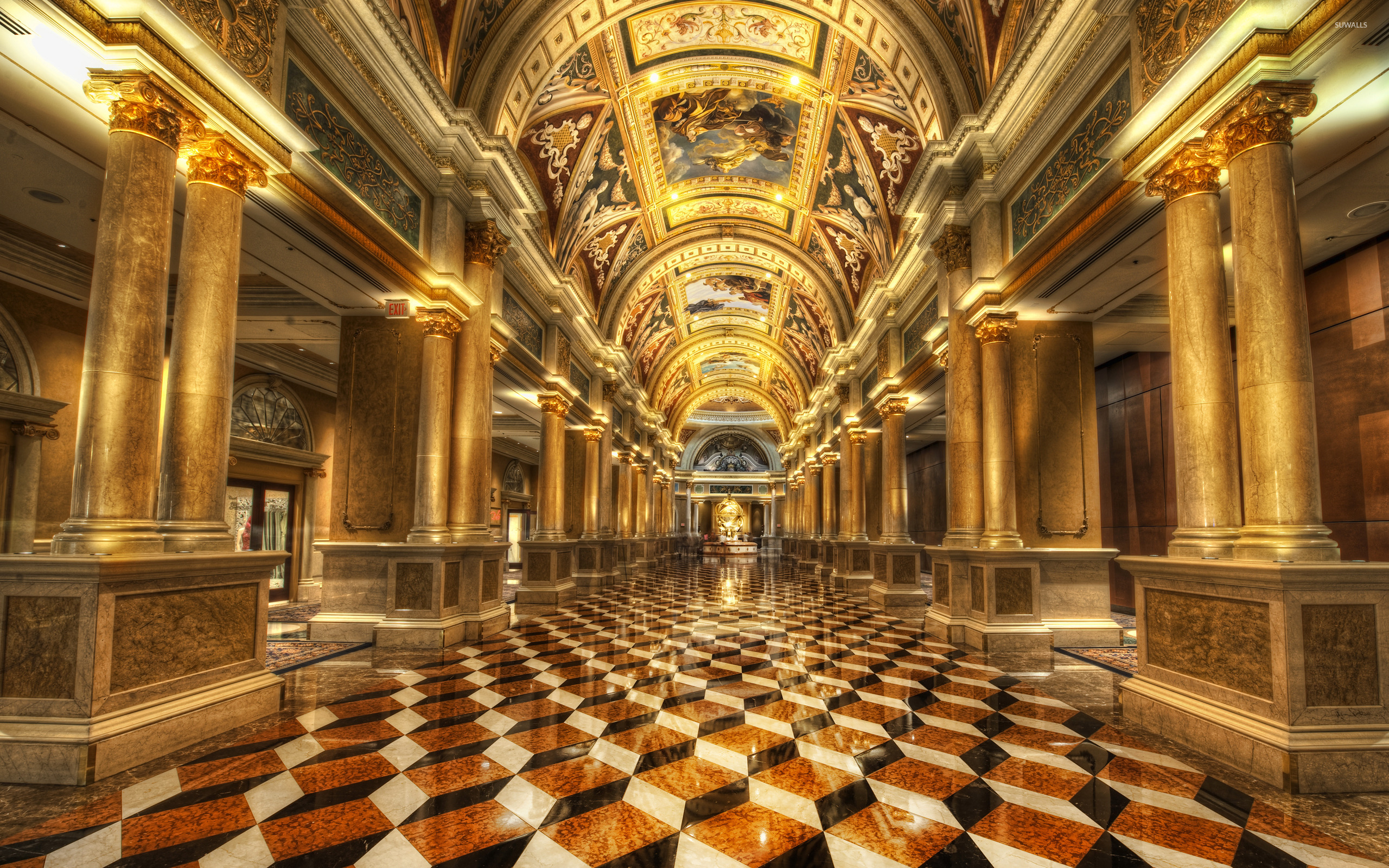 Museum Lobby Wallpaper Photography Wallpapers 22536