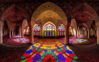 Nasir al-Mulk Mosque, Iran wallpaper 1920x1080 jpg