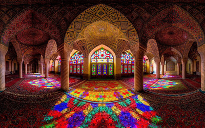 Nasir al-Mulk Mosque, Iran wallpaper