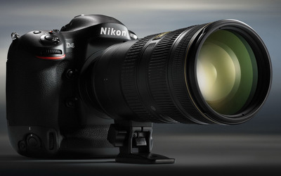 Nikon D4 camera wallpaper