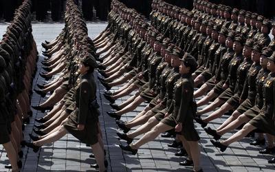 North Korea army wallpaper