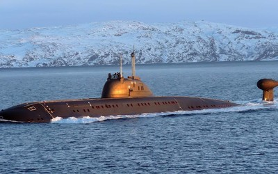 Nuclear submarine wallpaper