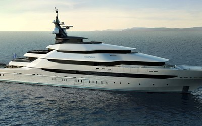 Oceanco yacht wallpaper