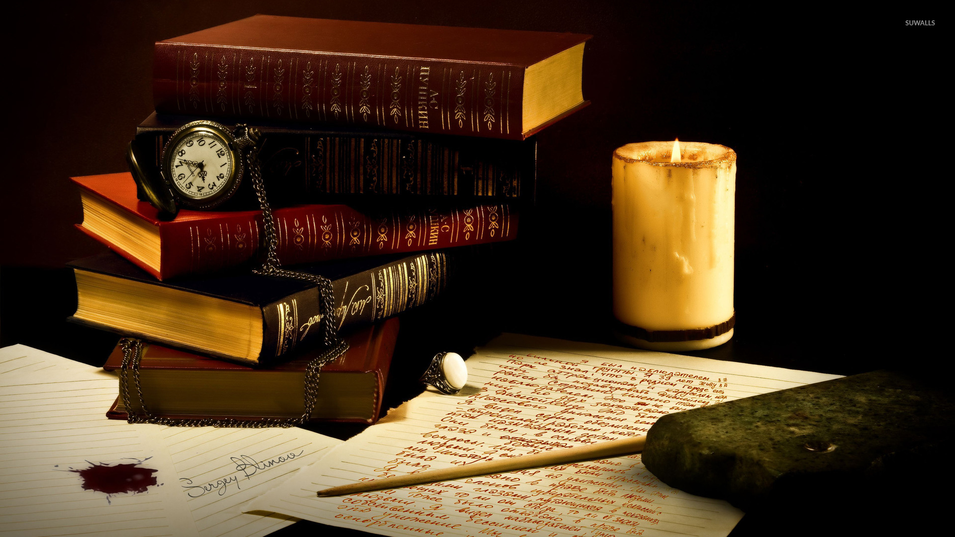 Old Books 3 Wallpaper Photography Wallpapers 37393