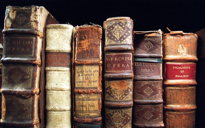 Old books wallpaper