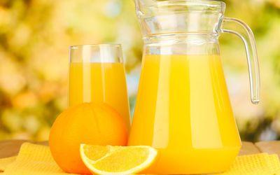 Orange juice [2] Wallpaper