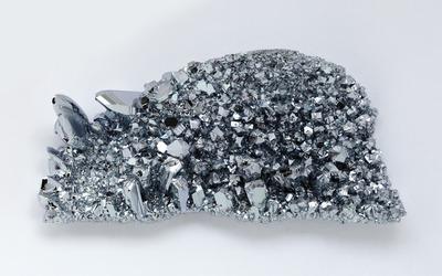 Osmium crystals wallpaper