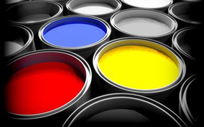 Paint buckets wallpaper