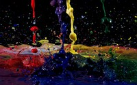 Paint splashes [2] wallpaper 1920x1200 jpg
