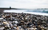 Pebbles on the beach wallpaper 1920x1200 jpg