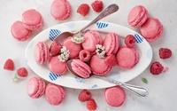 Pink macarons wallpaper 1920x1200 jpg