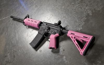 Pink Magpul wallpaper
