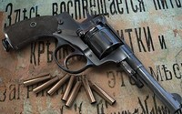 Pistol and bullets wallpaper 1920x1200 jpg