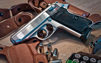 PPK/ Walther pistol wallpaper 2880x1800 jpg
