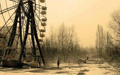 Pripyat amusement park wallpaper