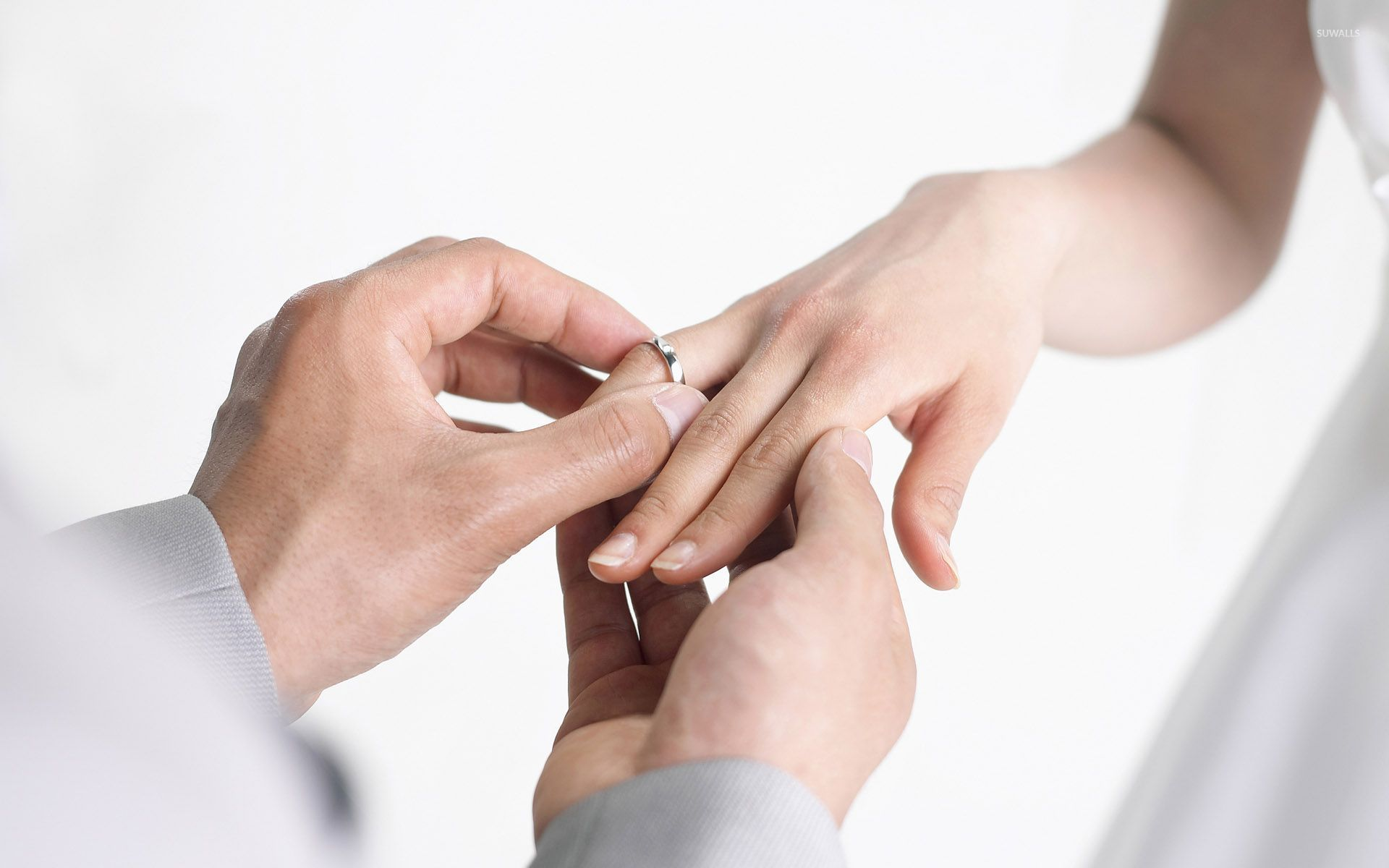Putting On Wedding Ring Video