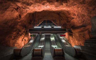Radhuset metro station wallpaper