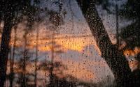 Rain drops on window wallpaper 3840x2160 jpg