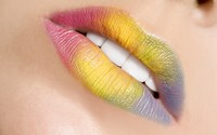Rainbow Lipstick wallpaper 2560x1600 jpg