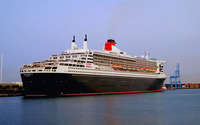 RMS Queen Mary 2 wallpaper 2560x1600 jpg