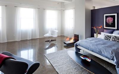Romantic bedroom wallpaper