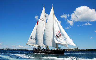 Sailing boat [4] wallpaper
