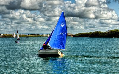 Sailing boats wallpaper