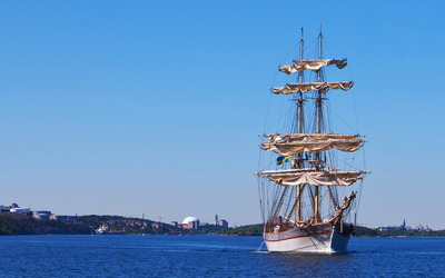 Sailing ship [2] wallpaper