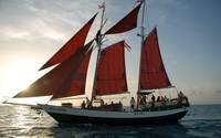 Schooner Jolly II Rover wallpaper 1920x1200 jpg