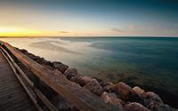 Seaside pier wallpaper 1920x1080 jpg