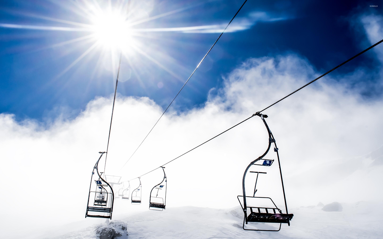 Ski Resort Wallpaper