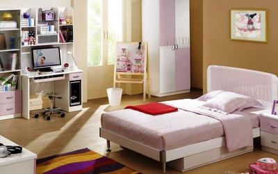 Small bedroom wallpaper