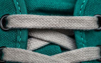Sneaker laces wallpaper