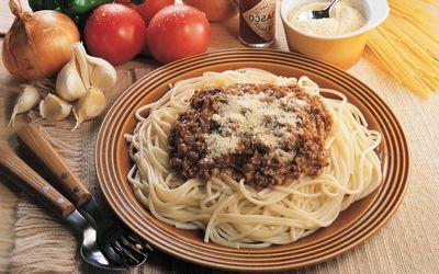Spaghetti bolognese wallpaper
