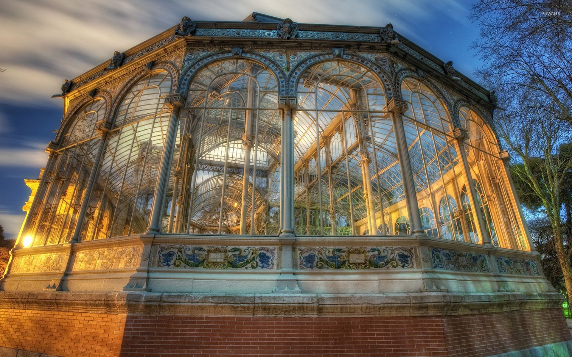 Spectacular Spanish architecture wallpaper - Photography ...