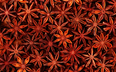 Star anise wallpaper