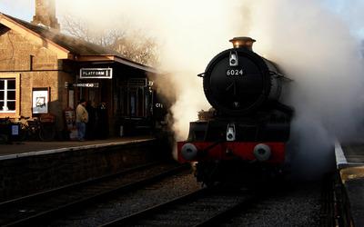 Steam locomotive [3] wallpaper