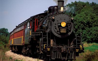 Steam locomotive [4] wallpaper