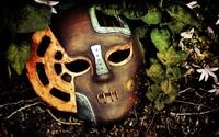 Steampunk mask wallpaper 2560x1600 jpg