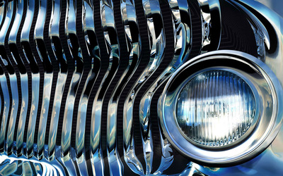 Stereoscopic headlight wallpaper