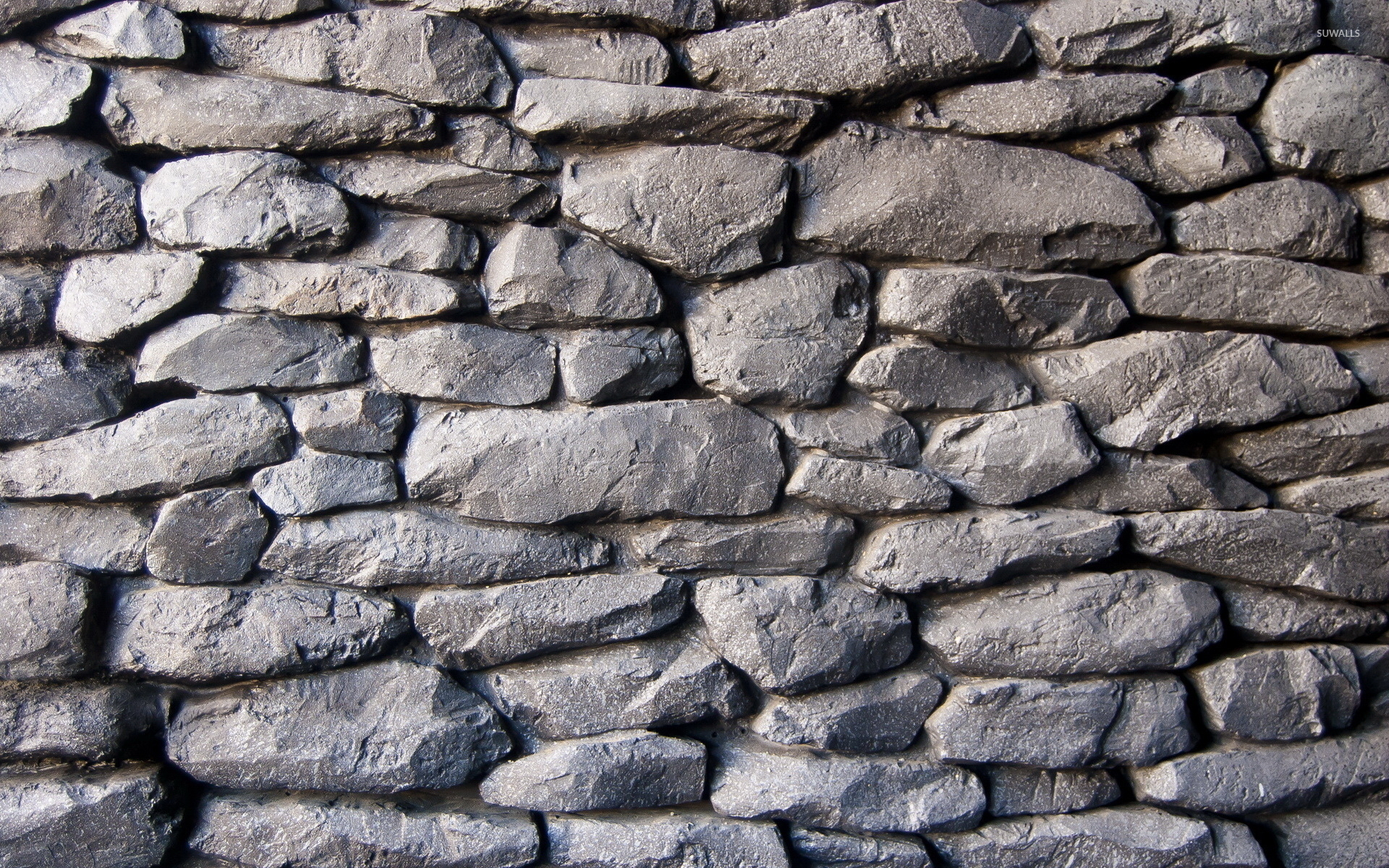 Stone wall 2 wallpaper photography wallpapers 45960 for Wallpapering a wall