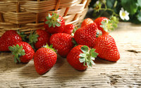 Strawberries [2] wallpaper 1920x1200 jpg