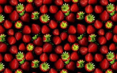 Strawberries [22] wallpaper