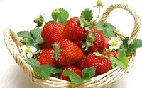 Strawberries wallpaper 1920x1200 jpg