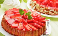Strawberry cake [2] wallpaper 2560x1440 jpg