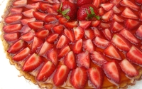 Strawberry cake [3] wallpaper 2560x1600 jpg
