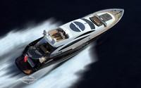 Sunseeker Predator sport motor yacht wallpaper 1920x1200 jpg