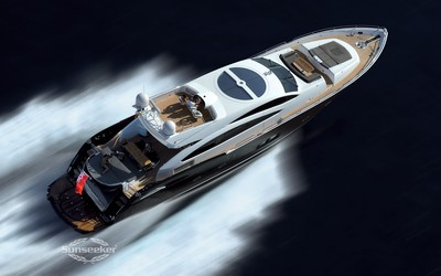 Sunseeker Predator sport motor yacht wallpaper